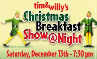 Tim & Willy Christams Show At Night